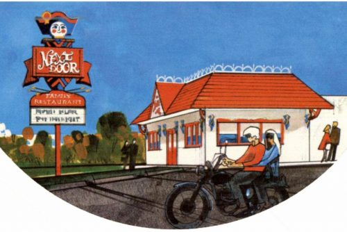 Old Next Door Restaurant from 1971