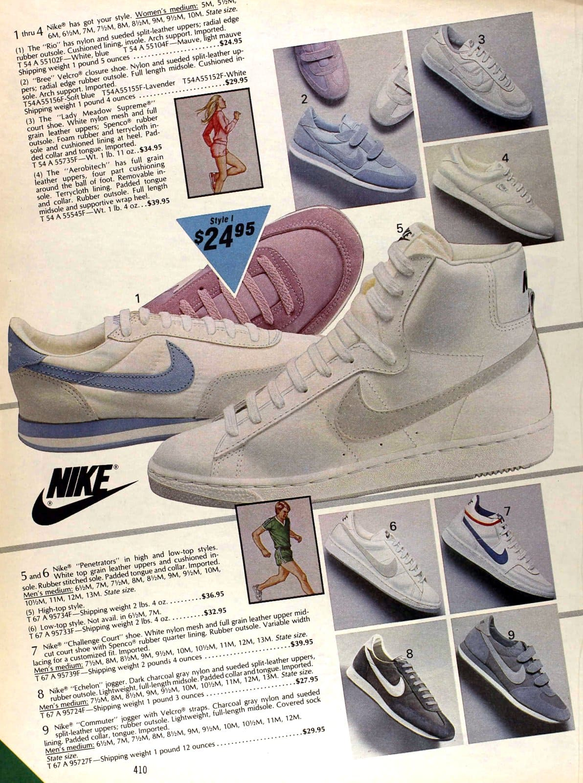 Old Nike shoes available in 1983