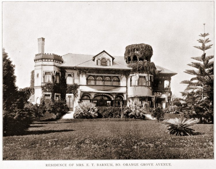 Old Pasadena - Barnum home
