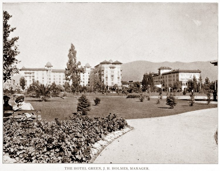 Old Pasadena - Hotel Green