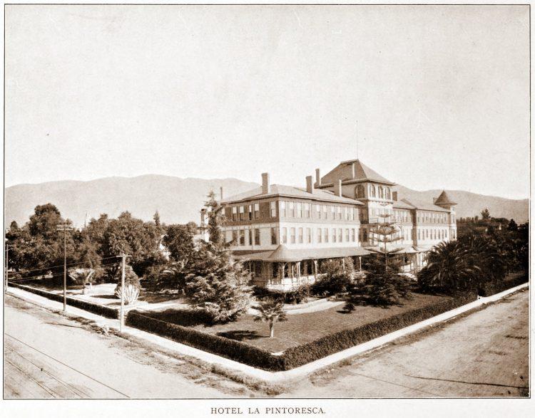 Old Pasadena - Hotel La Pintoresca
