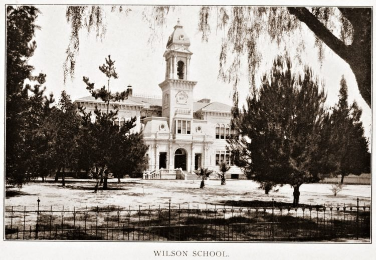 Old Pasadena - Wilson School