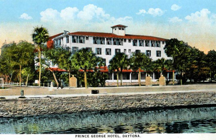 Old Prince George Hotel - Daytona Florida 1917