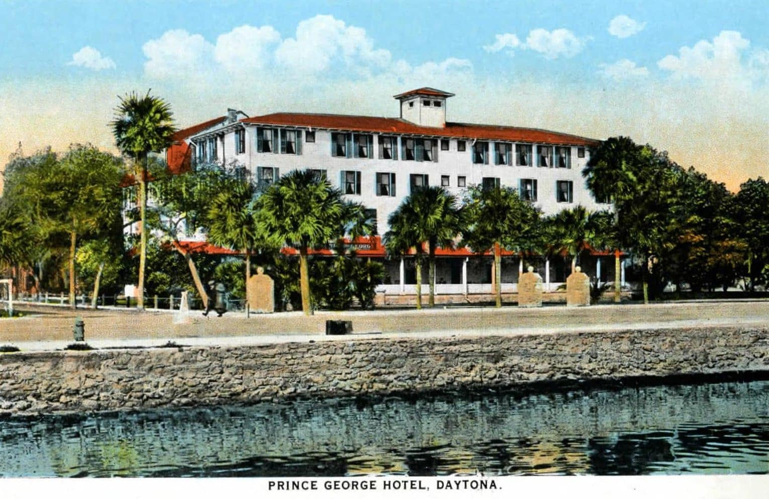 Old Prince George Hotel - Daytona Florida 1917
