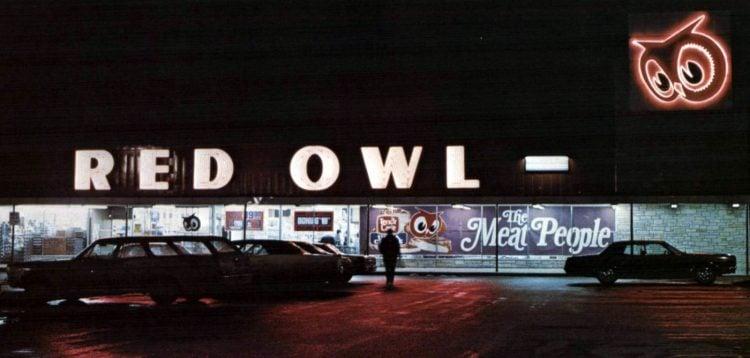 Old Red Owl supermarket - 1972 - 13
