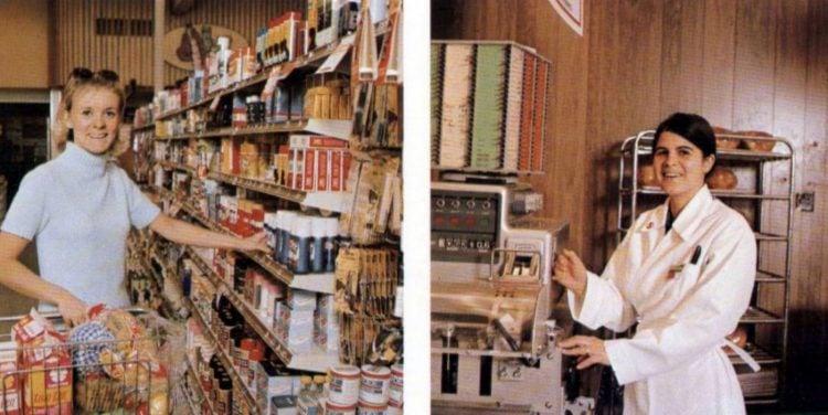 vintage 1970s supermarkets - Safeway