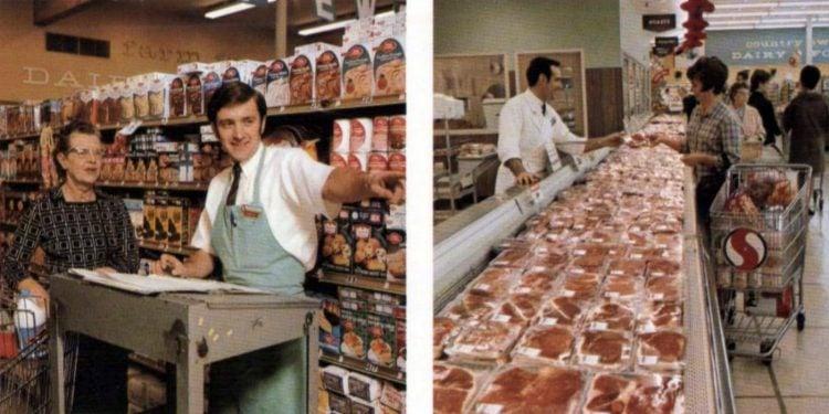 Old Safeway supermarket - 1970 - 11