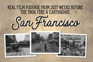 Old San Francisco, just before the 1906 earthquake