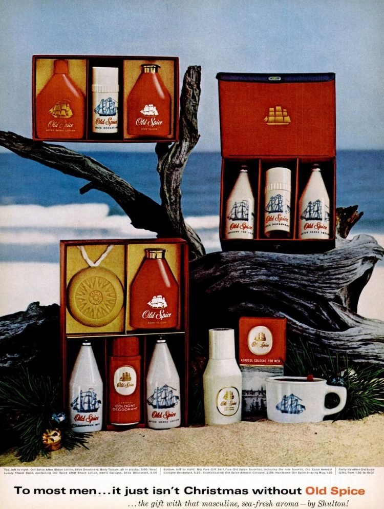 Old Spice gift set 1965
