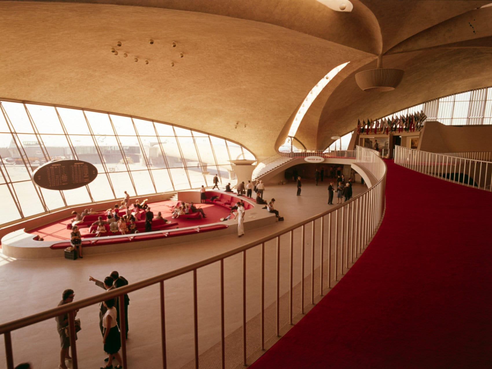 Old TWA Trans-World Airlines Terminal at Idlewild Airport