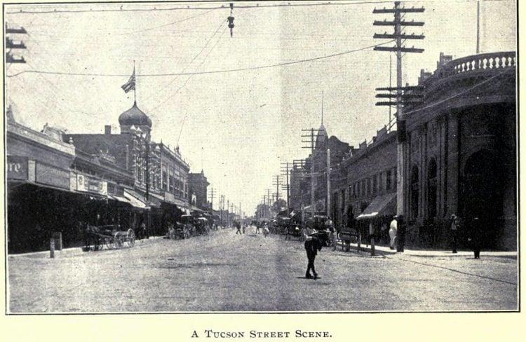 Old Tucson street - 1900s