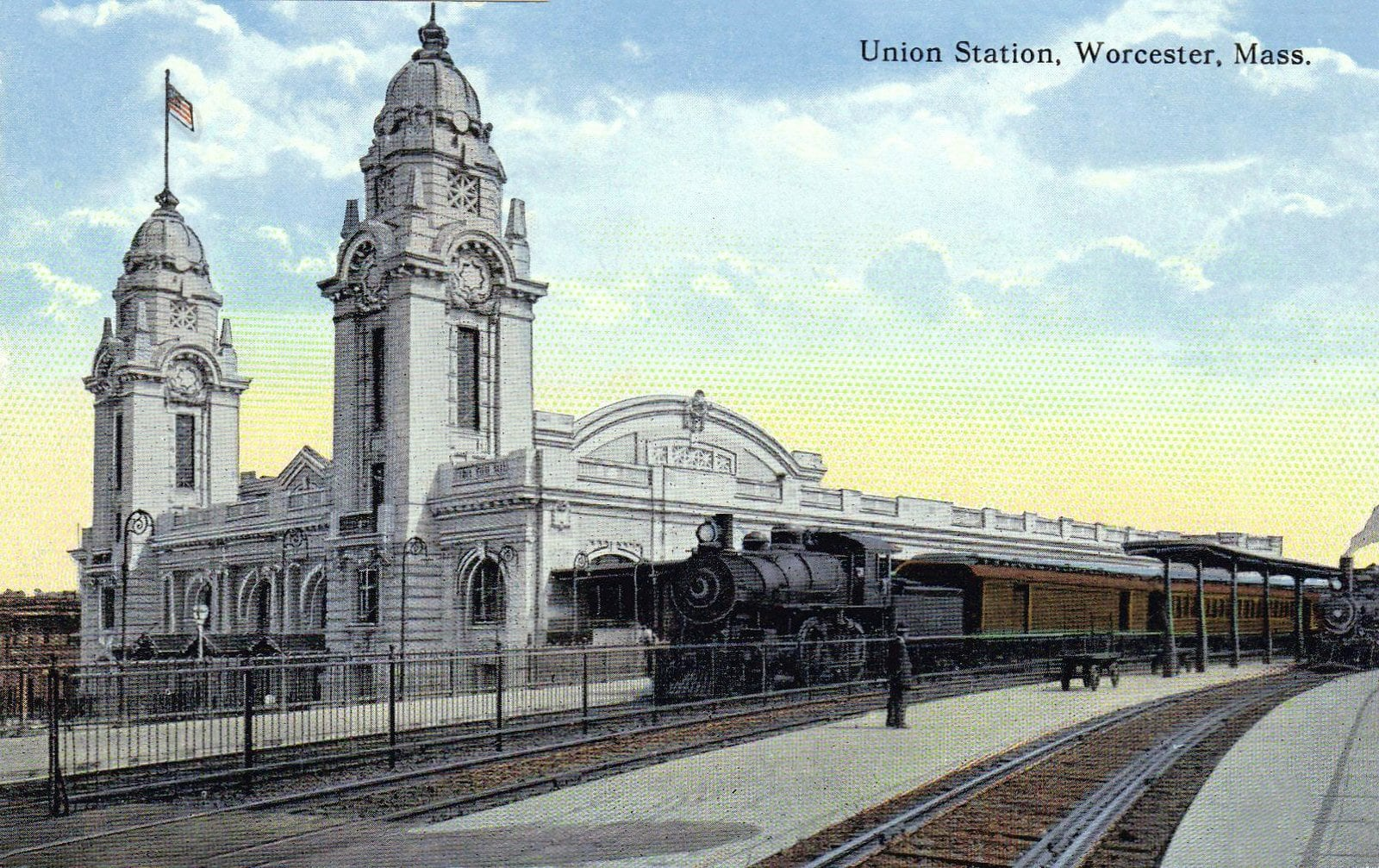 Old Union Station - Train depot in Worcester Mass