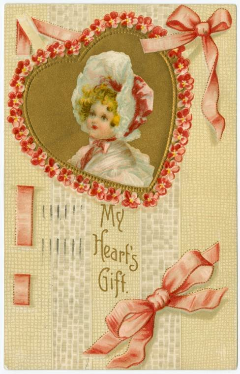 Old Valentine's Day postcard collection (9)