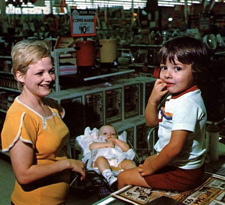 Old Wal-Mart stores in the seventies - 1977 (1)