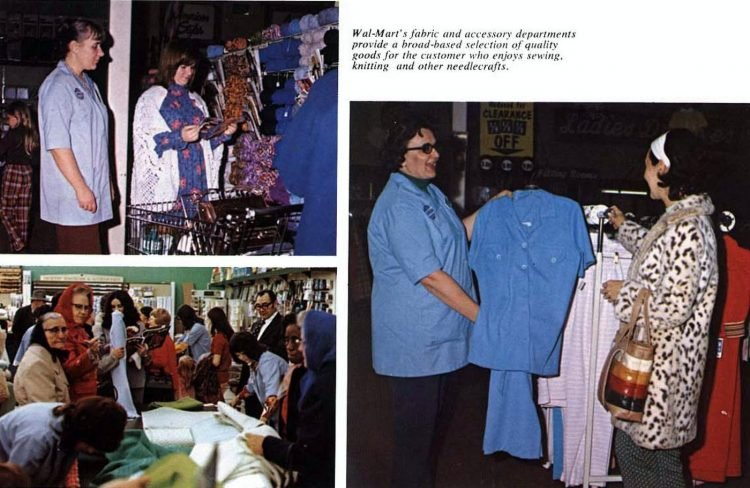 Old Wal-Mart stores in the seventies - 1977 (2)