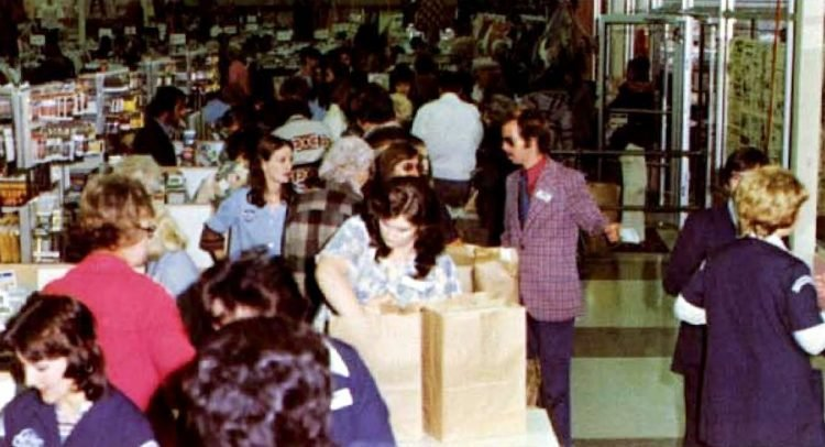 Old Wal-Mart stores in the seventies - 1977 (3)
