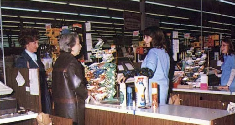 Old Wal-Mart stores in the seventies - 1977 (6)