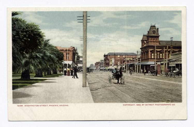Old Washington Street, Phoenix, Ariz