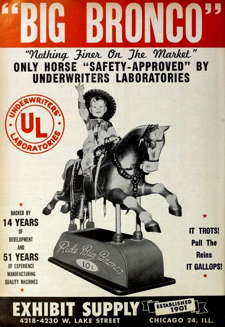 Old coin-operated horse rides (3)