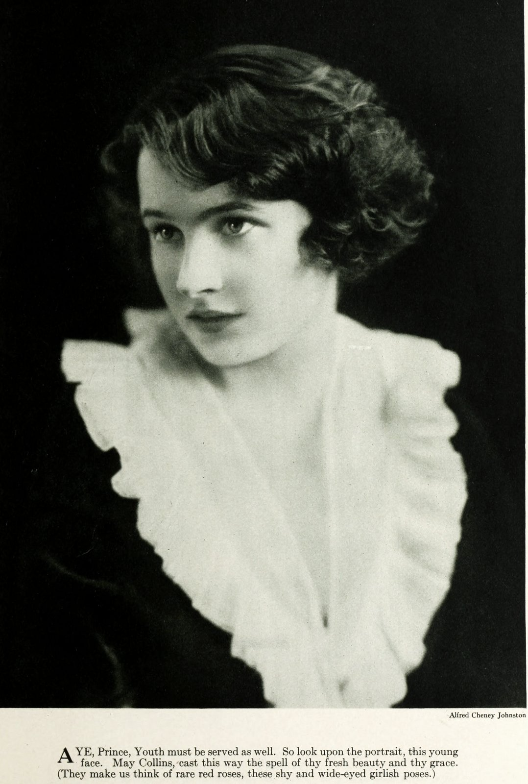 Old-fashioned 1920s womens hairstyles - actress May Collins