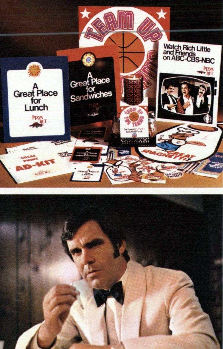 Old-fashioned Pizza Hut restaurants - 1973 (1)