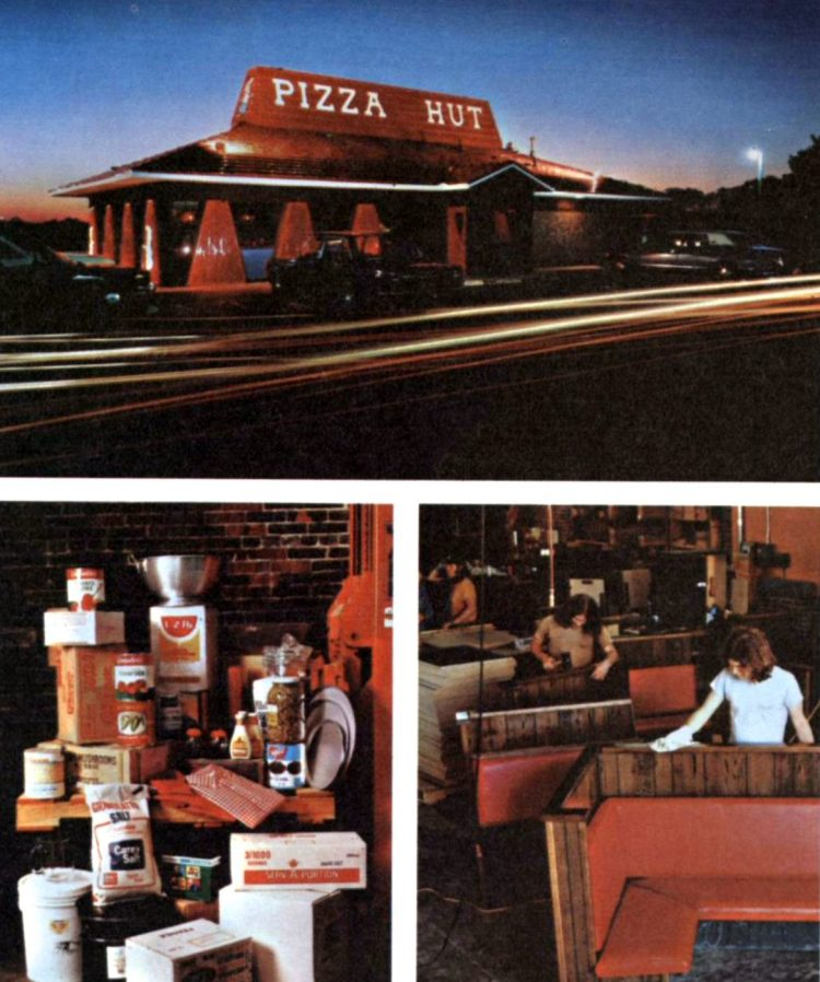 Old-fashioned Pizza Hut restaurants - 1973 (5)