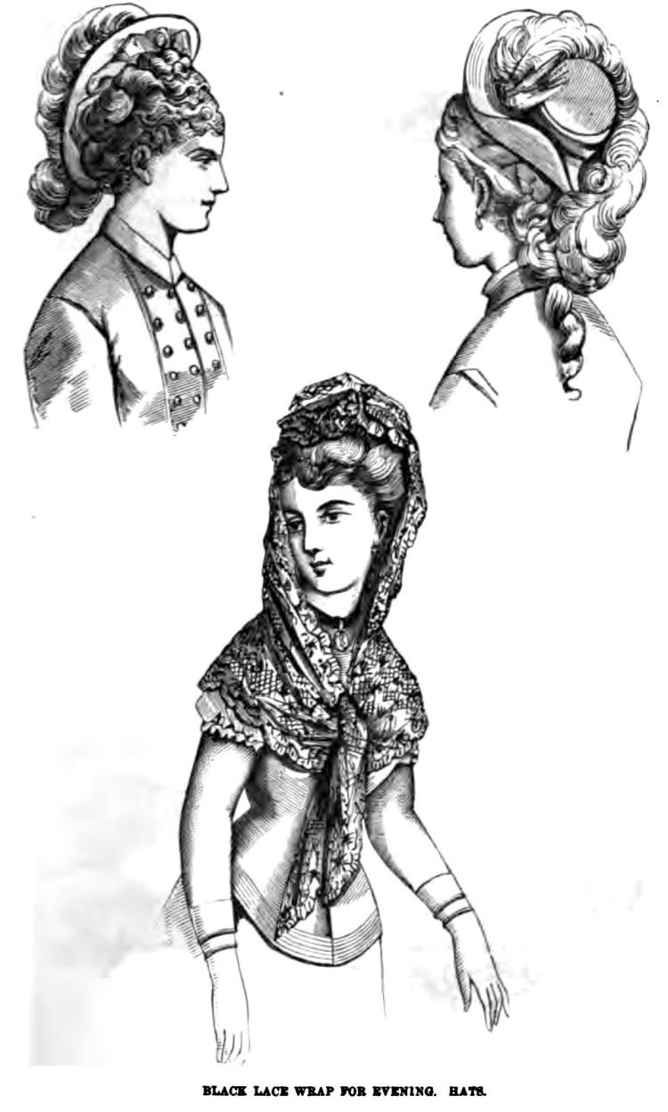 Old-fashioned Victorian hairstyles from 1876 (10)