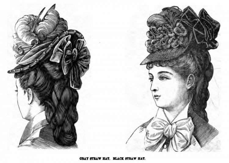 Old-fashioned Victorian hairstyles from 1876 (3)