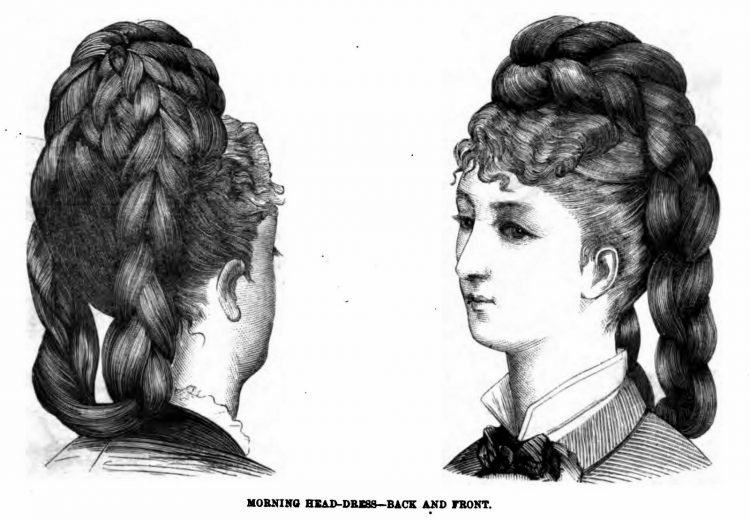 Old-fashioned Victorian hairstyles from 1876 (4)
