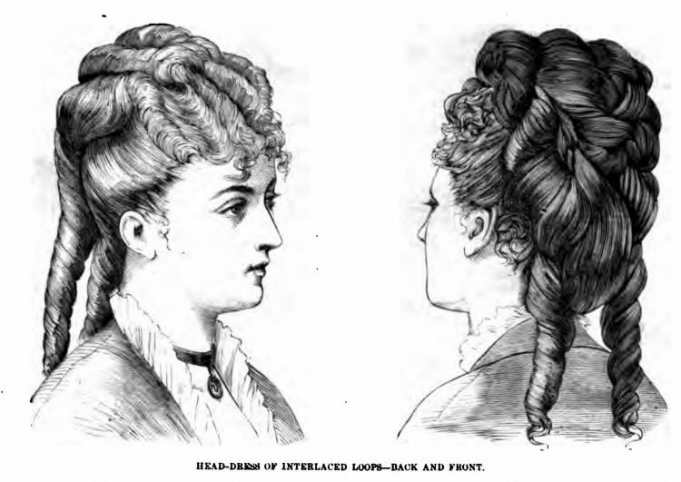 Old-fashioned Victorian hairstyles from 1876 (5)