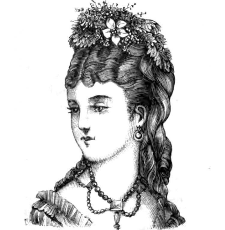 Old-fashioned Victorian hairstyles from 1876 (6)