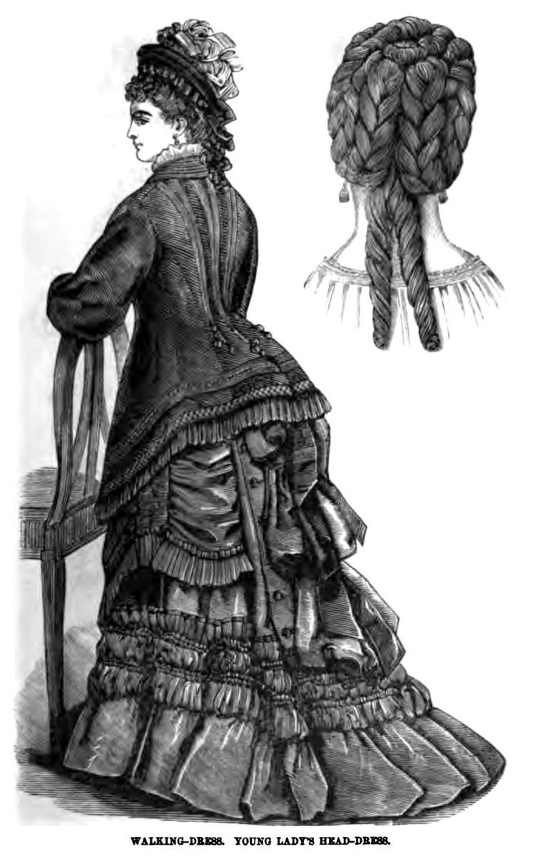 Old-fashioned Victorian hairstyles from 1876 (8)