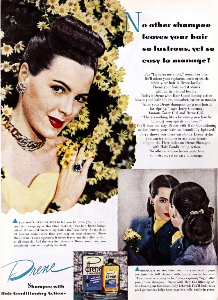 Old fashioned hairstyles from the forties (2)