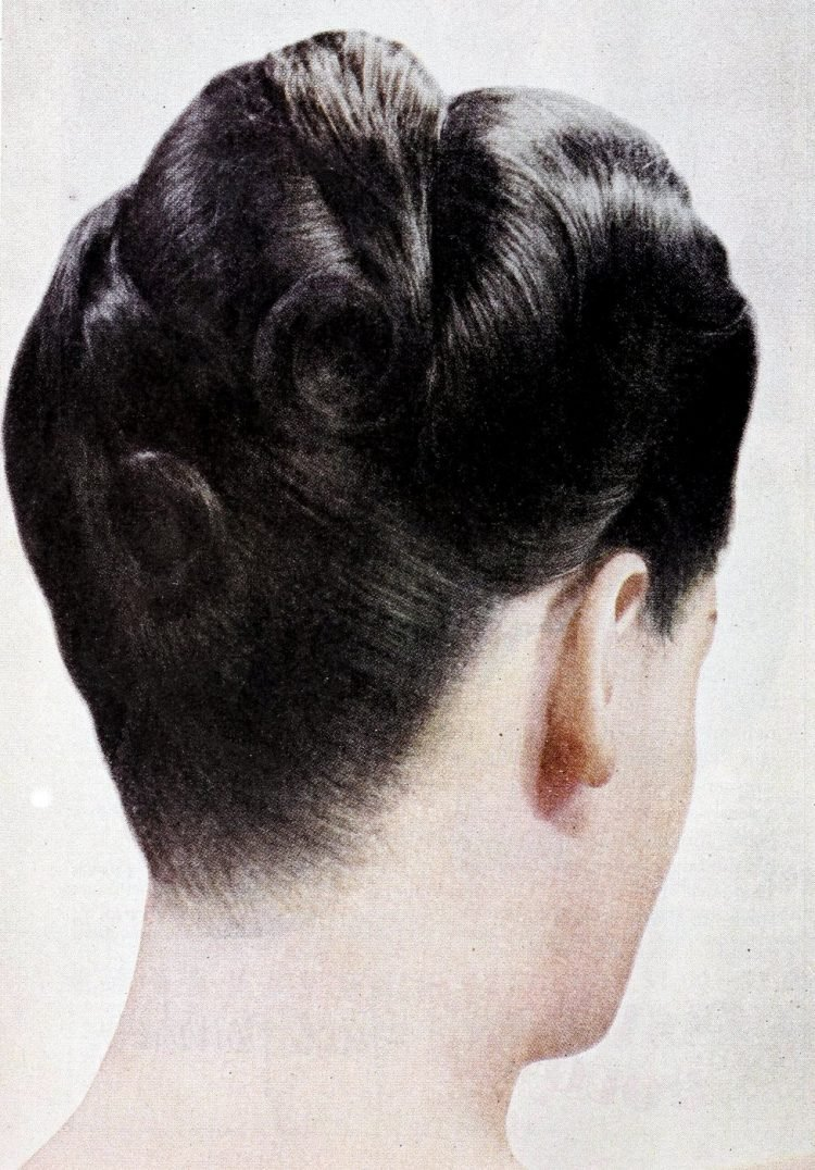 Old fashioned hairstyles from the forties (3)