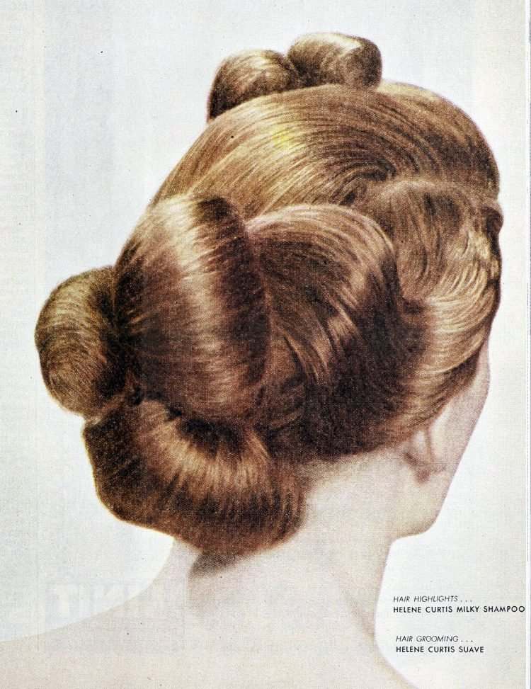 Old fashioned hairstyles from the forties (4)