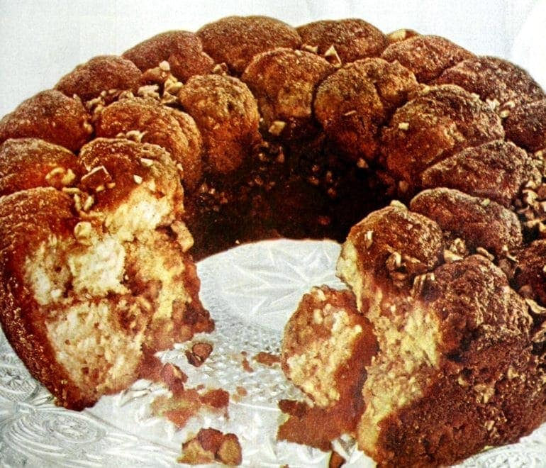 Old-fashioned monkey bread recipe