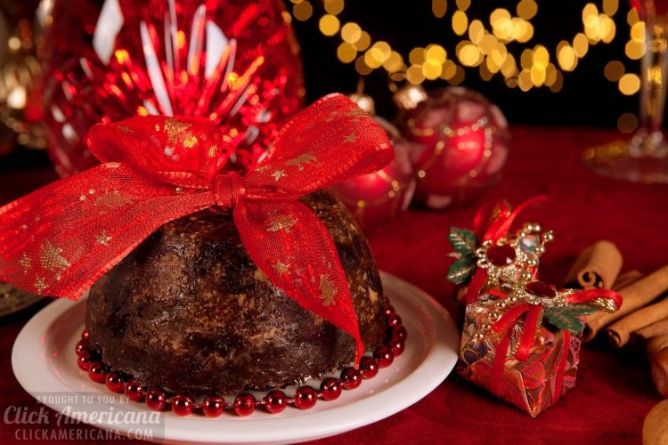 Old-fashioned plum pudding recipe