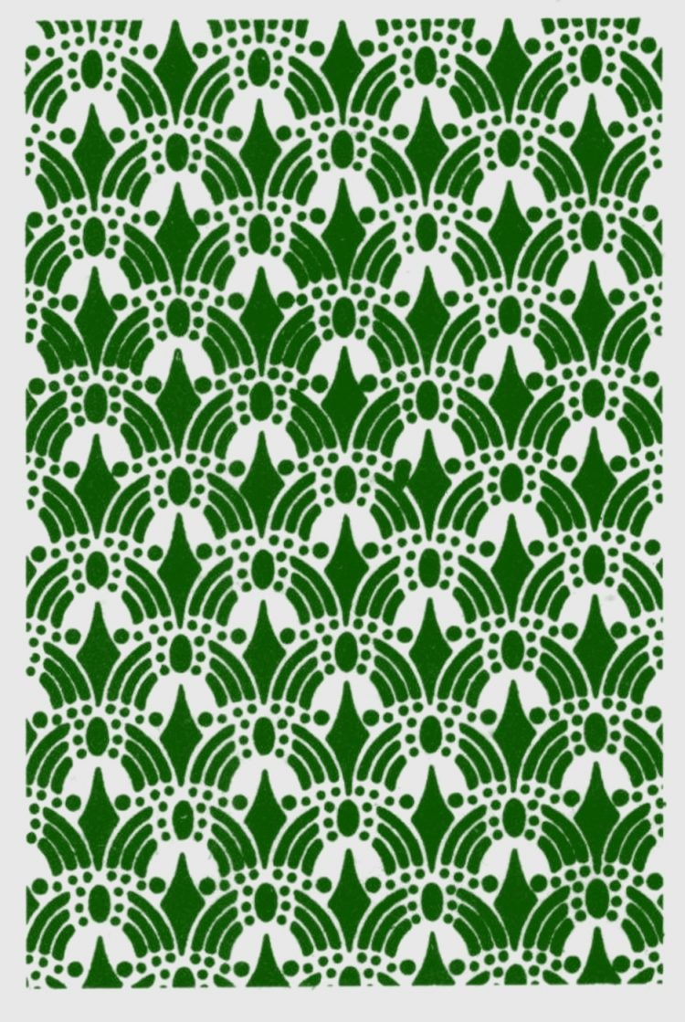 Old-fashioned stencil pattern from Click Americana (1)