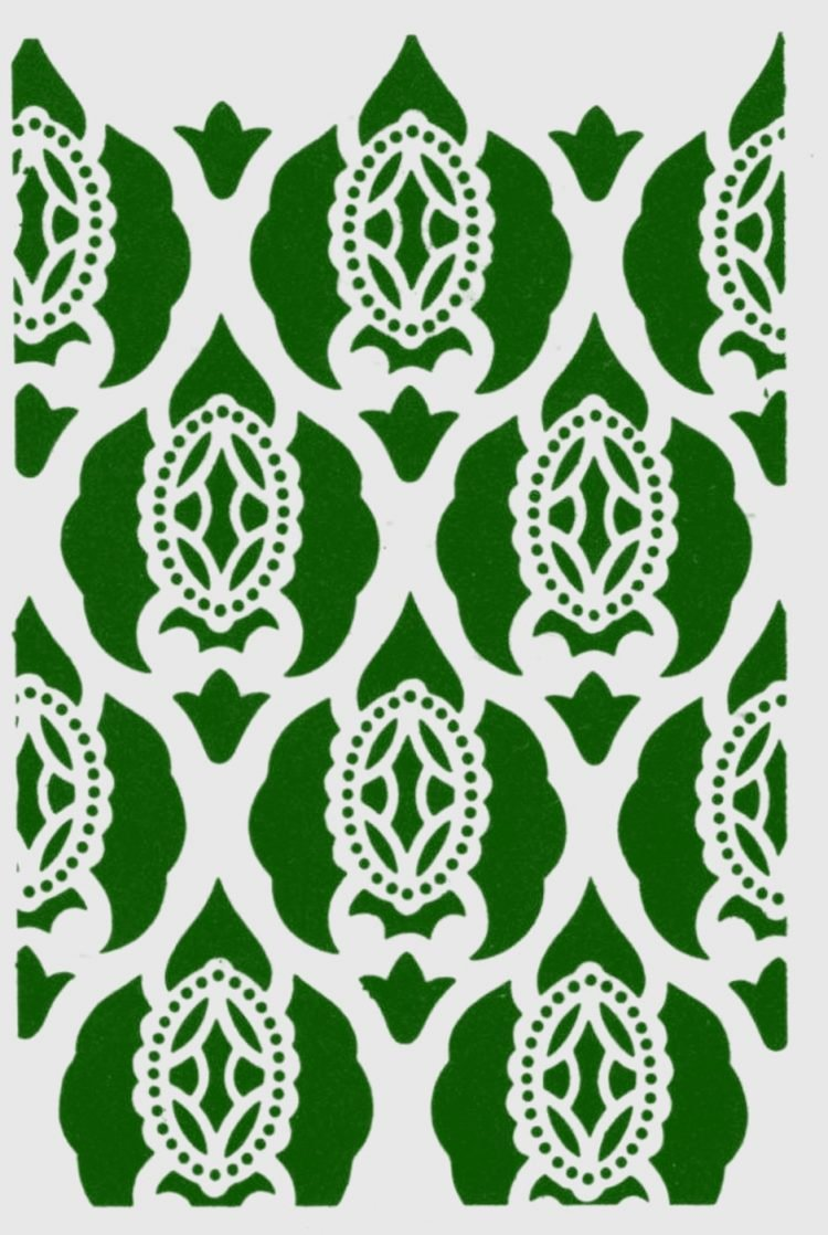 Old-fashioned stencil pattern from Click Americana (3)