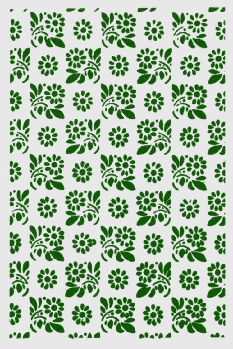 Old-fashioned stencil pattern from Click Americana (5)