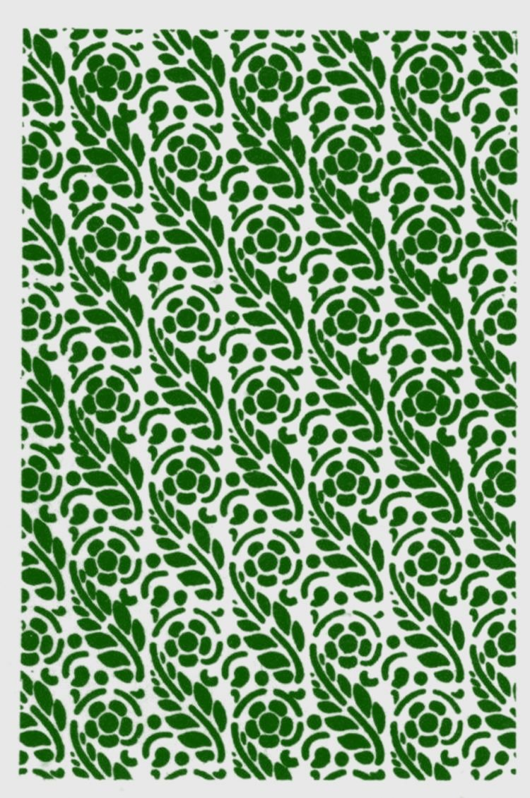 Old-fashioned stencil pattern from Click Americana (6)