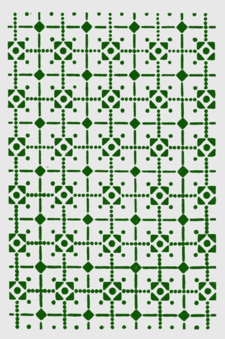 Old-fashioned stencil pattern from Click Americana (8)