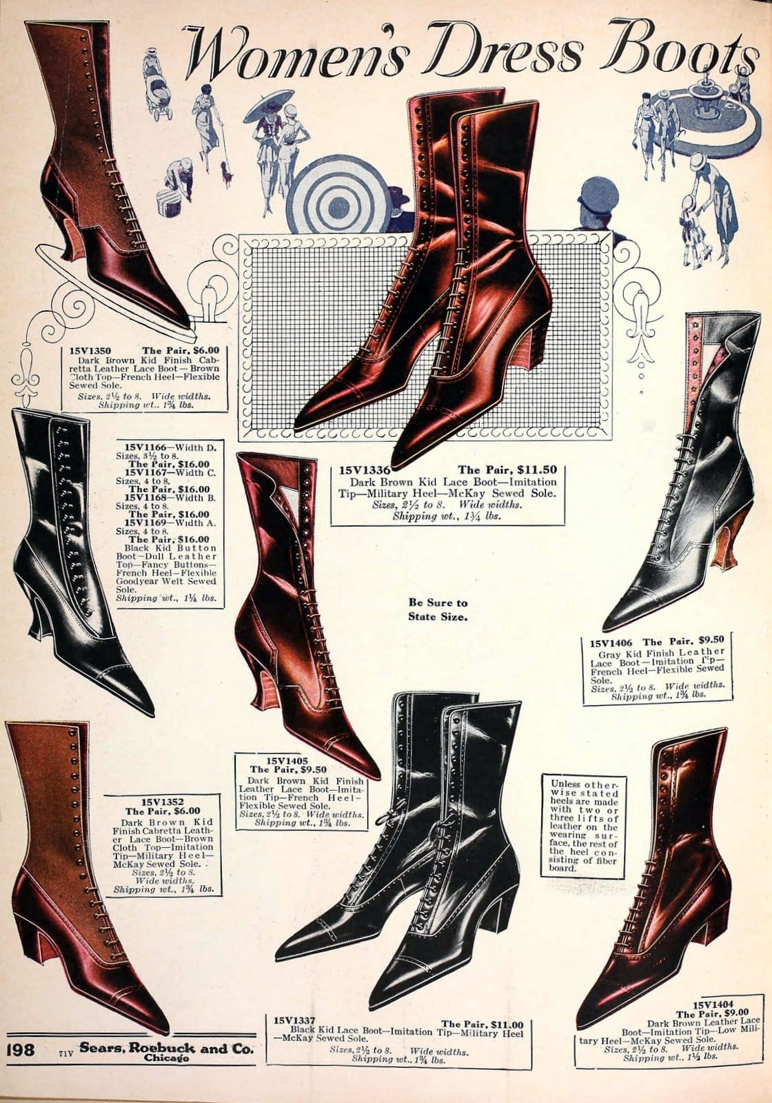 Old-fashioned women's shoes from 1920 (4)