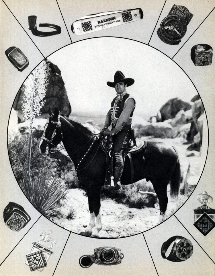 Old movie star Tom Mix
