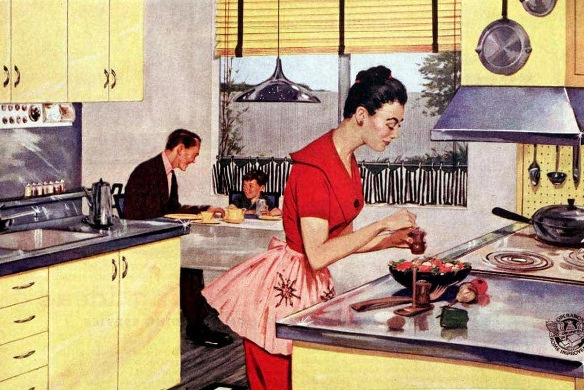 Old-school ways to keep your kitchen cool when it's hot outside