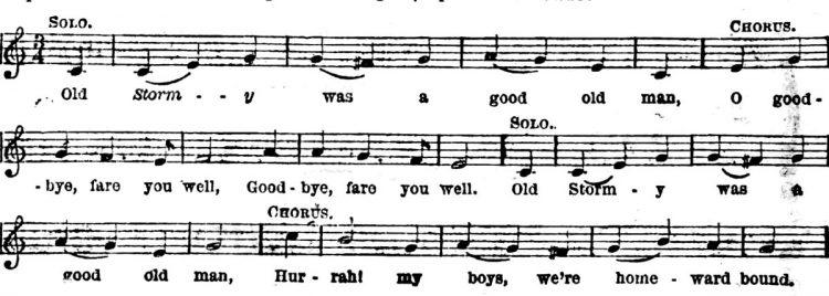 Old sea shanties - Lyrics