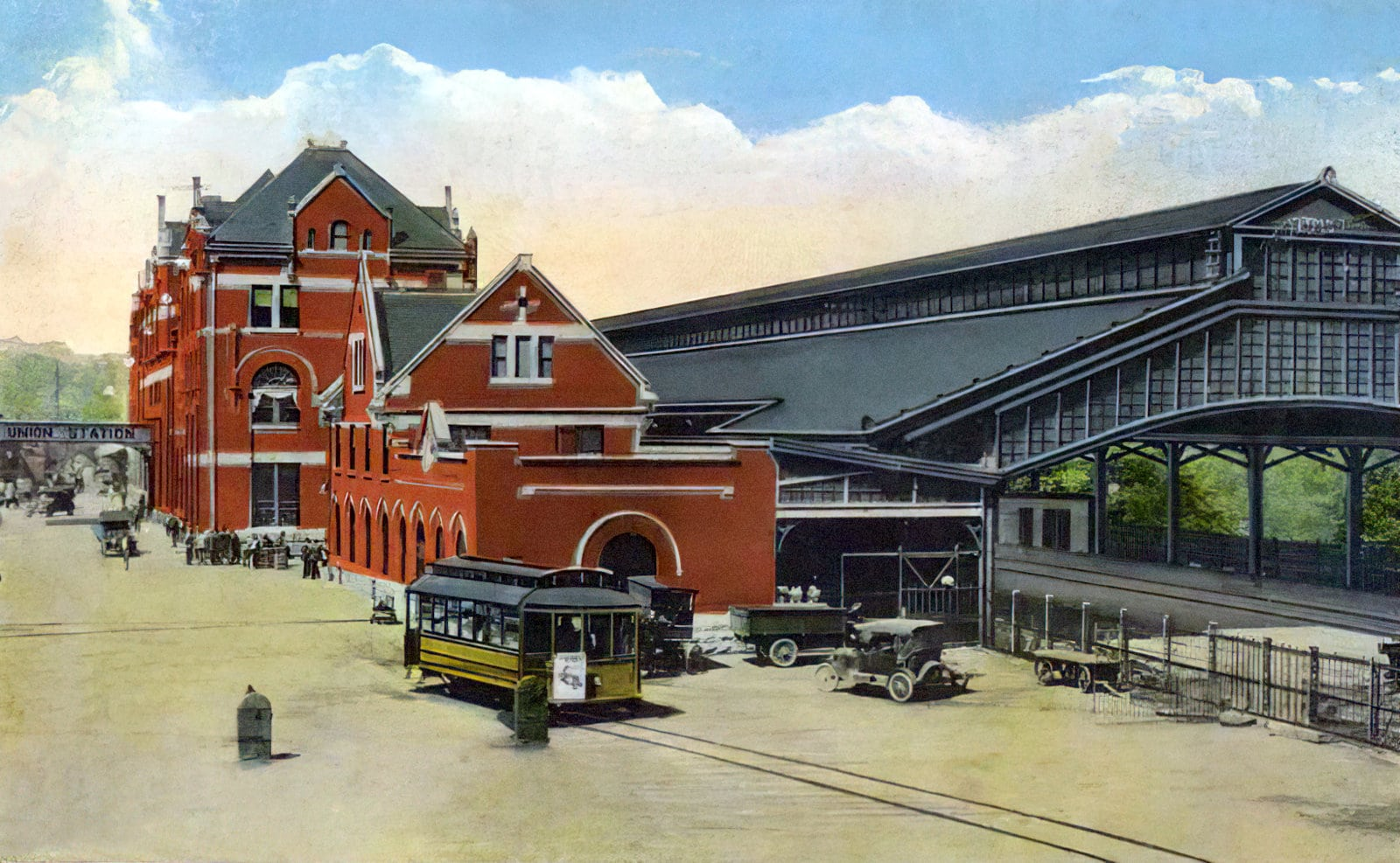 Old train station - Union Station in Montgomery Alabama
