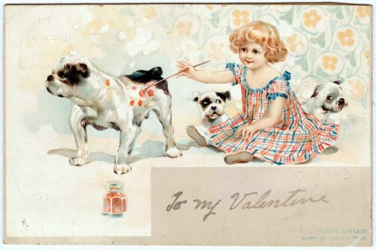 Old vintage Valentine's Day cards from the turn of the century (1)