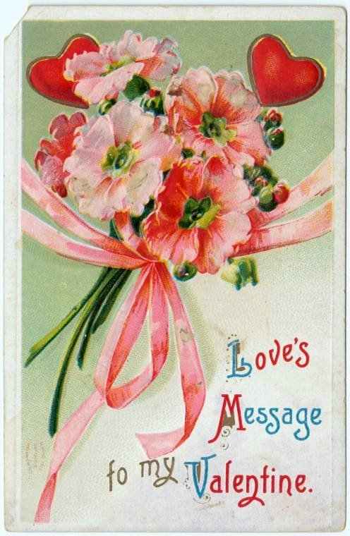 Old vintage Valentine's Day cards from the turn of the century (2)