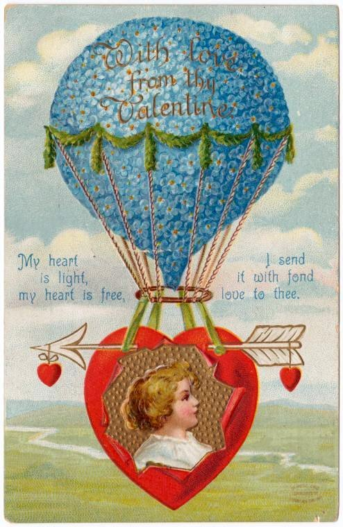 Old vintage Valentine's Day cards from the turn of the century (3)
